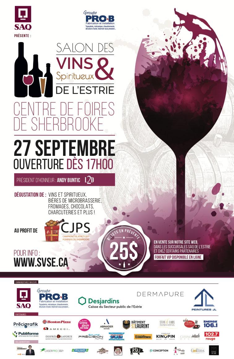 salons des vins et spiritueux de l'estrie 2018